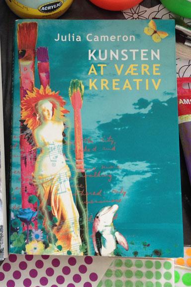 """""""Kunsten at være kreativ"""" af Julia Cameron. Fotograf: Susanne Randers"""