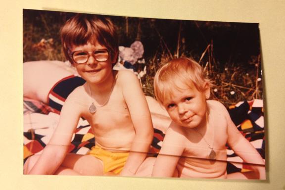 En sommer på stranden, 1978. Fotograf: Annette Randers