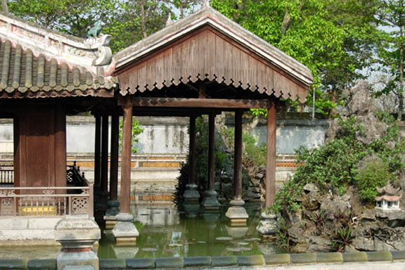 Citadellet Hue Vietnam. Fotograf: Susanne Randers