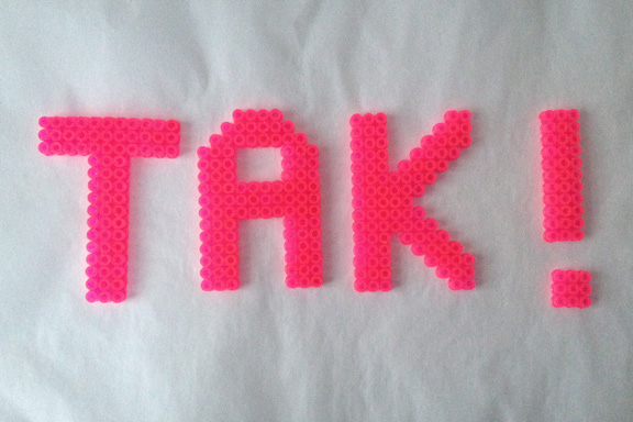 TAK ! Fotograf: Susanne Randers