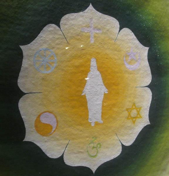 Guddommeligt, smukt billede med alverdens trosretninger. Fotograf: Susanne Randers