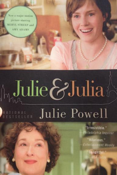 """Bogen og filmen """"Julie & Julia"""". Fotograf: Susanne Randers"""