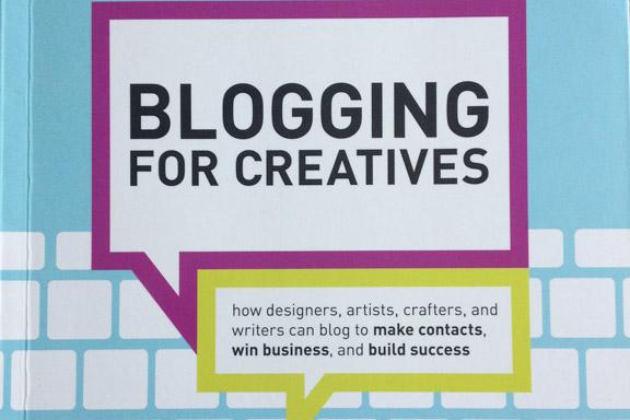 """""""Blogging for Creatives"""" bog af Robert Houghton, købt på Amazon. Fotograf: Susanne Randers"""