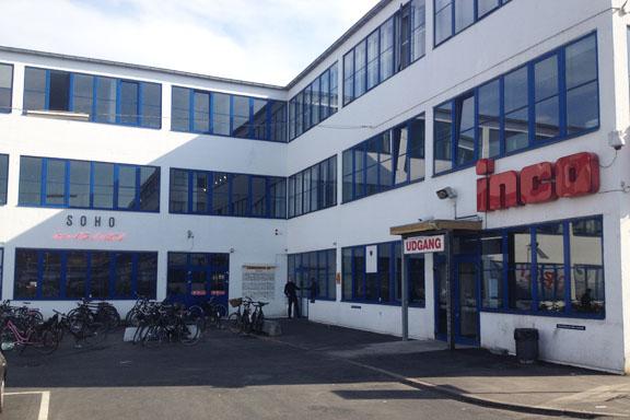 SOHO kontorhotel i Kødbyen har indgang lige ved inco. Fotograf: Susanne Randers