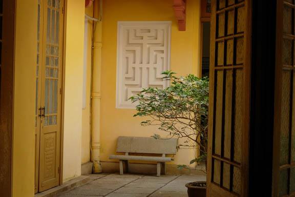"""Et roligt og fredfyldt sted i Vietnam, som jeg kan """"gå ind i"""" og finde roen i mit indre. Fotograf: Susanne Randers"""