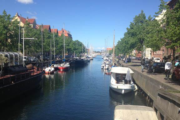Christianshavns Kanal ved broen på Sankt Annæ Gade. Fotograf: Susanne Randers