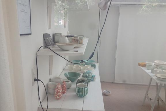 Smuk keramik af Karin Michelsen. Heldigt for min pengepung, at hun ikke var der... Fotograf: Susanne Randers