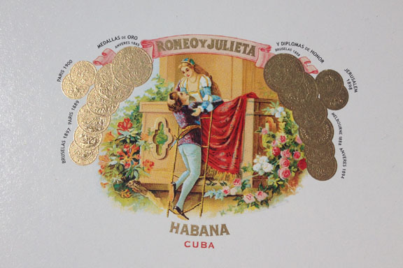 mitkrearum.dk kreativitet 95 genbrugsguld cigaræske romeo y julieta guld logo