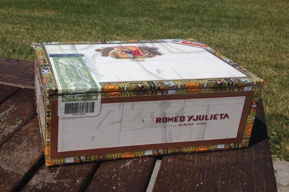 mitkrearum.dk kreativitet 95 genbrugsguld cigaræske romeo y julieta