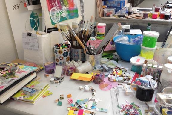mitkrearum.dk kreativitet 107 kunsthøjskolen i holbæk arbejdsbord susanne randers
