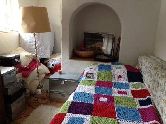 Mit skønne værelse på Højgården hos Anne Julie. Fotograf: Susanne Randers