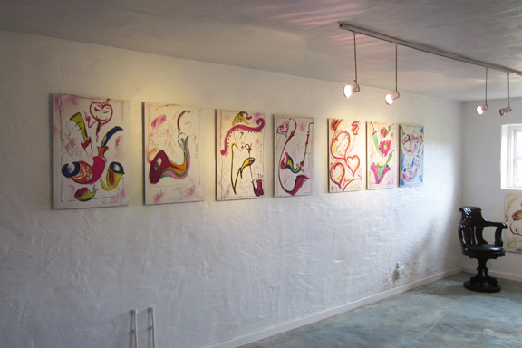 mitkrearum.dk kreativitet 112 galleri anne julie piber malerier og livskunst på læsø 7 hvide tavler m pibebilleder