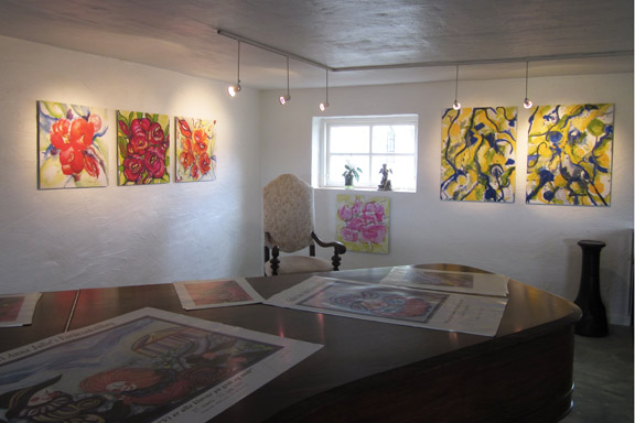mitkrearum.dk kreativitet 112 galleri anne julie piber malerier og livskunst på læsø malerier og flygel