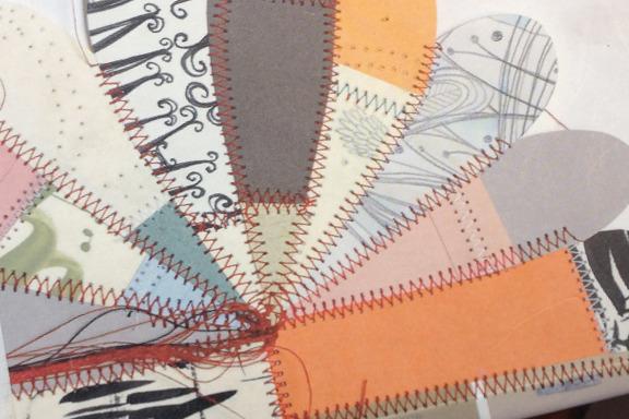 """""""Concrete 2 Canvas: More Skateboarders Art"""" bog af Jo Waterhouse. Udsnit af bagside illustreret af Thomas Campbell. Fotograf: Susanne Randers"""