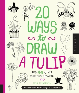 """20 Ways to Draw a Tulip"" af Lisa Congdon"