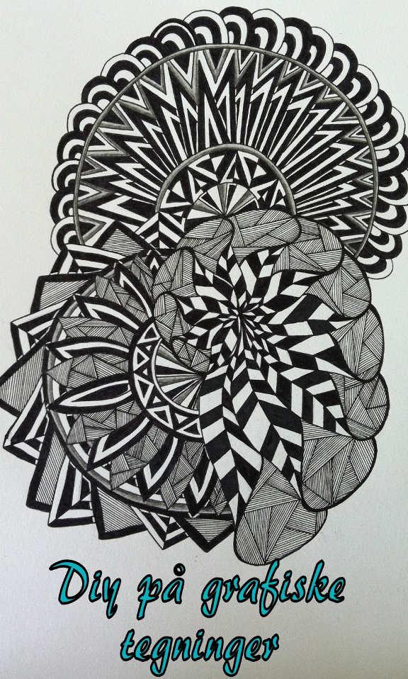 DIY på grafiske tegninger af madebyme-helena.blogspot.dk