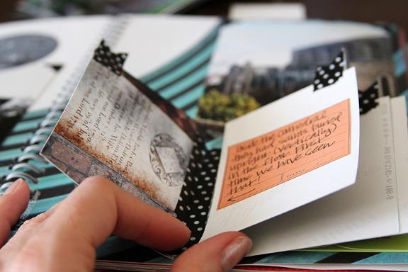 DIY smash book rejsedagbog fra craftsunleashed.com