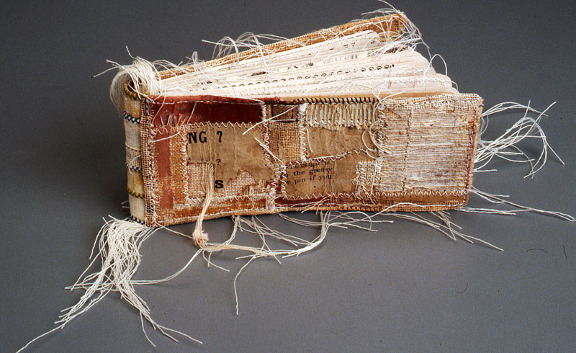 "Lisa Kokin: ""The Origin of Birds"" _ Book Art Mixed Media One. Book art made from recycled and found materials"