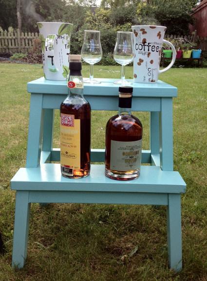 Fejring af livet med Cognac i haven. Fotograf: Susanne Randers