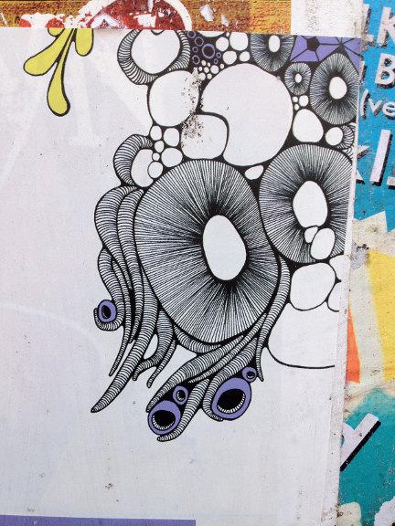 Udsnit af plakat fra Aarhus Sustainability Festival 2013. Fotograf: Susanne Randers