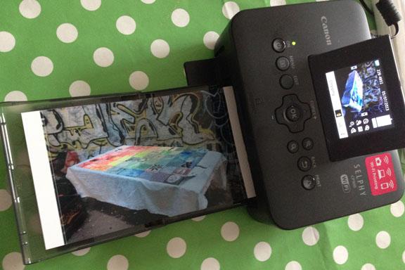 Canon Selphy CP900 fotoprinter. Foto udskrevet på 10x15 cm. Fotograf: Susanne Randers