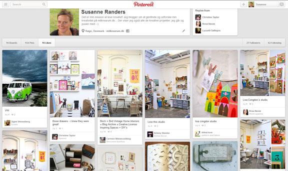 Mine likes på Pinterest: mitkrearum / Susanne Randers