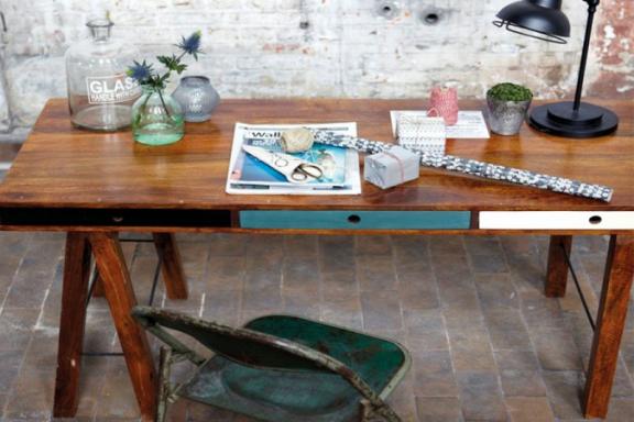House Doctor skrivebord af mangotræ fra BoShop