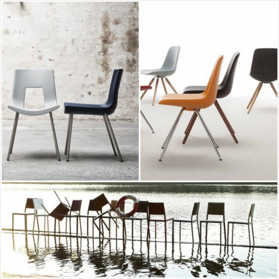 Spisestuestole fra BoShop. Nine Eighteen, Step Chair Wood samt Now! 18