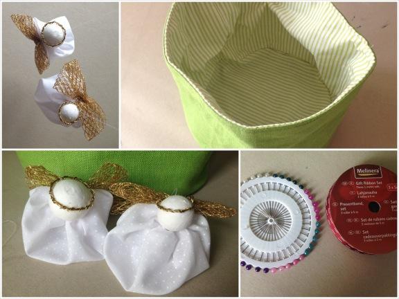 Collage af pakkelegsgaver fra Lene fra Ting og tanker. Fotograf: Susanne Randers