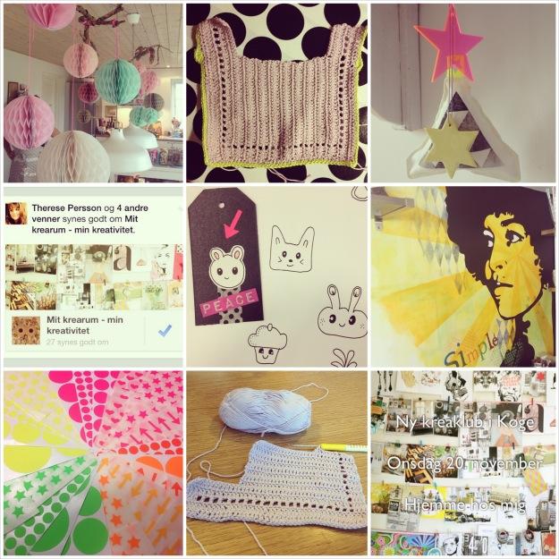 Collage af mine Instagrambilleder fra uge 46 2013. Fotograf: Susanne Randers