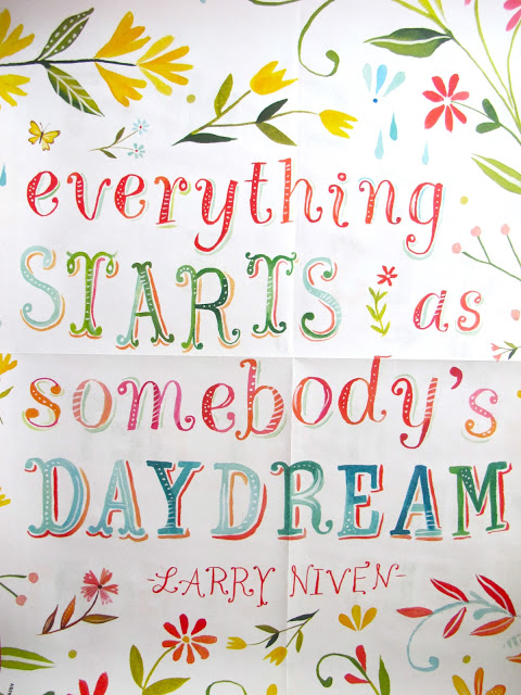 """""""Everything starts as somebody's dream"""". Set hos studiosjoesjoe.com"""