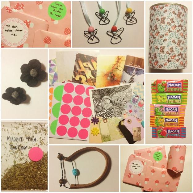 Adventspakkeleg 1. søndag i advent. Min pakke fra Kira fra toinspireatleastsome.blogspot.dk