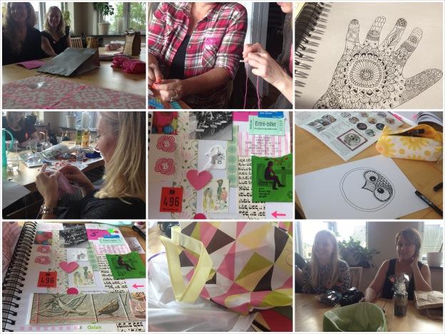 Blogtræf hos Linda Boldreel 26. oktober 2013. Fotograf: Susanne Randers