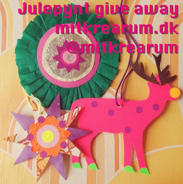 Retro julepynt give away med et kitschy drys af neon. Fotograf: Susanne Randers