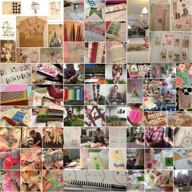 mitkrearum.dk kreativitet kreativ inspiration 2013 collage