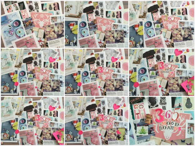 365 moodboards i 2014. Moodboard #2. Step by step collage. Fotograf: Susanne Randers