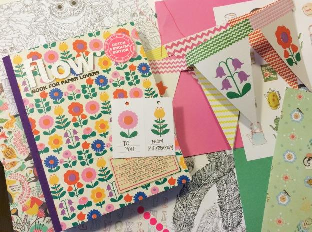 365 moodboards i 2014. Moodboard #21: Flow Book for Paper Lovers give away. Smashup. Fotograf: Susanne Randers