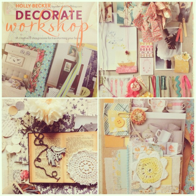 365 mood boards in 2014. Mood board #22: Decorate Workshop af Holly Becker. Collage. Instagram filter Valencia. Photographer: Susanne Randers