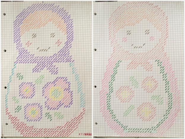 365 moodboards i 2014. Moodboard #29: Babushka korsstingsbroderi mønster til dig. Fotograf: Susanne Randers