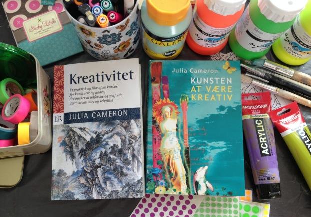 365 moodboards i 2014. Moodboard # 4: Min kreative rejse med Julia Cameron. Fotograf: Susanne Randers