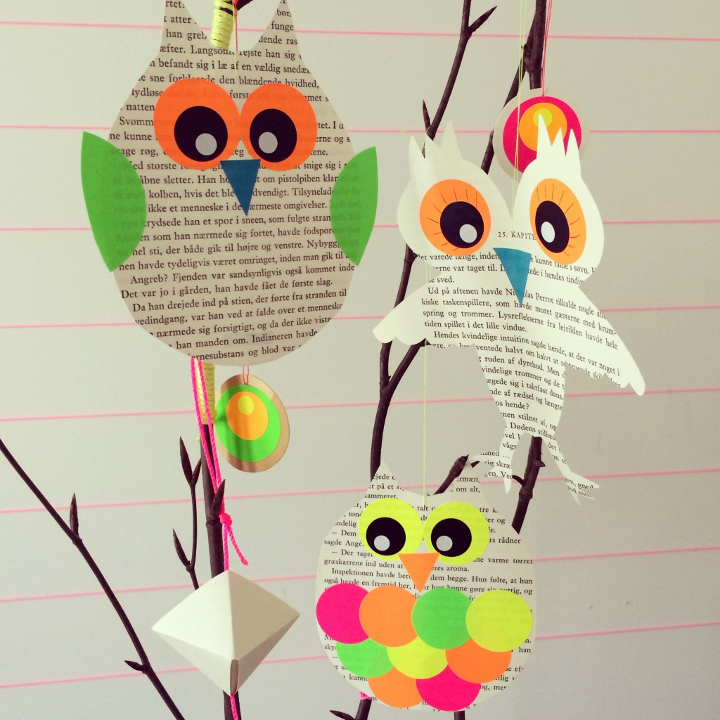 365 mood boards in 2014. Mood board #51: Ready for owl workshop. Instagram filter Valencia. Photographer: Susanne Randers
