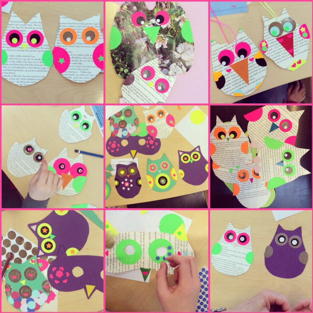 365 mood boards in 2014. Mood board #51: Some of today's lovely and cute owl creations. Instagram filter Valencia. Photographer: Susanne Randers