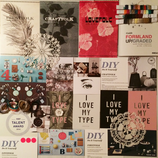 365 moodboards i 2014. Moodboard #32: Firstfolk, Craftfolk & Lovefolk DIY LOVE ♥ Formland UP/GRADED. Smashup. Fotograf: Susanne Randers