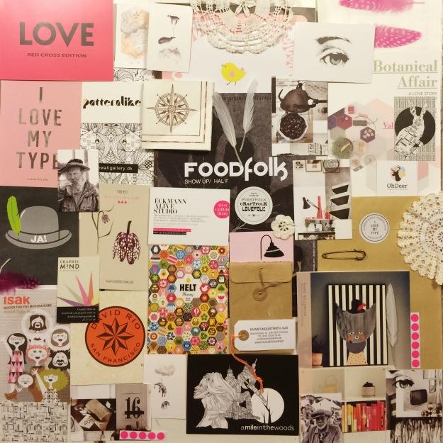 365 moodboards i 2014. Moodboard #34: Pink kreative vibrationer fra FORMLAND UP GRADED. Smashup Fotograf: Susanne Randers