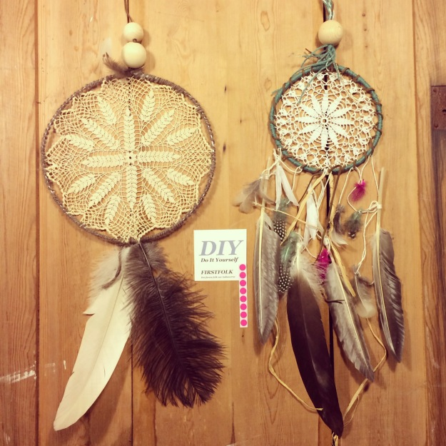 365 mood boards in 2014. Mood board #35: DIY: Firstfolk Dreamcatcher. Instagram filter Valencia. Photographer: Susanne Randers