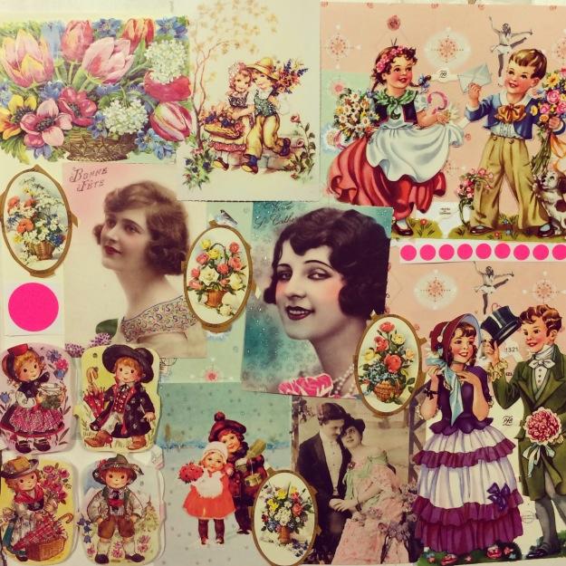 365 mood boards in 2014. Mood board #39: Romantic postcard swap for Indonesia. Instagram filter Valencia. Photographer: Susanne Randers