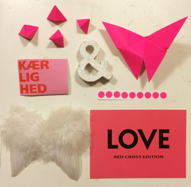 365 moodboards i 2014. Moodboard #45: Kærlighed er budskabet. Smashup. Fotograf: Susanne Randers