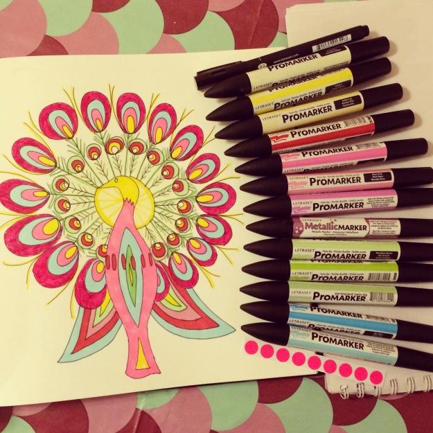365 mood boards in 2014. Mood board #46: Spread some color joy. Smashup. Instagram filter Valencia. Photographer: Susanne Randers