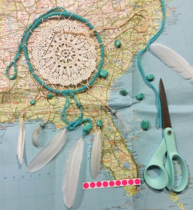 365 moodboards i 2014. Moodboard #59: Den amerikanske drøm - Drømmefanger til Florida. Smashup. Fotograf: Susanne Randers