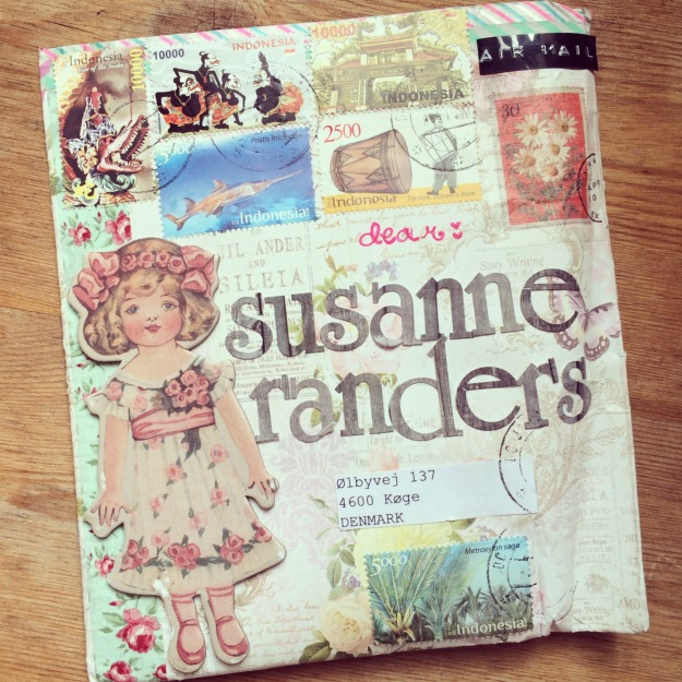 365 mood boards in 2014. Mood board #60: Vintage letter from Indonesia. Photographer: Susanne Randers